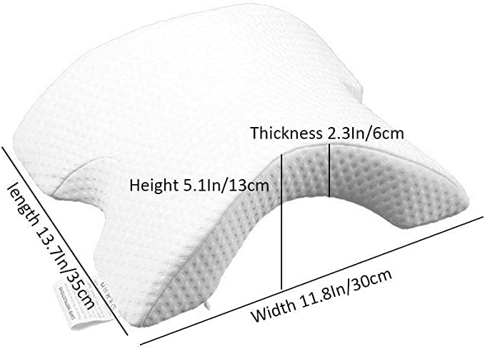 UMIWE Memory Foam Pillow for Side