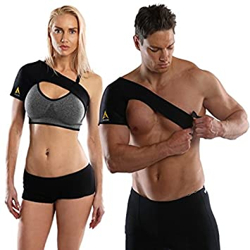 ac joint support brace. agon shoulder brace - rotator cuff support for injury prevention, dislocated ac joint, labrum ac joint