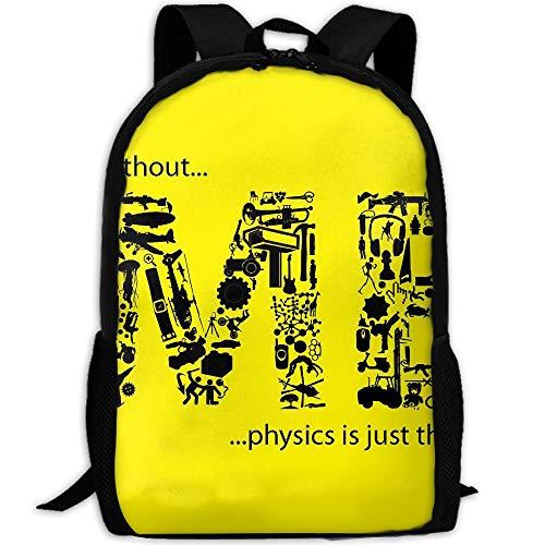 Markui Adult Travel Hiking Laptop Backpack Me Letters Design School Multipurpose Durable Daypacks Zipper Bags Fashion -