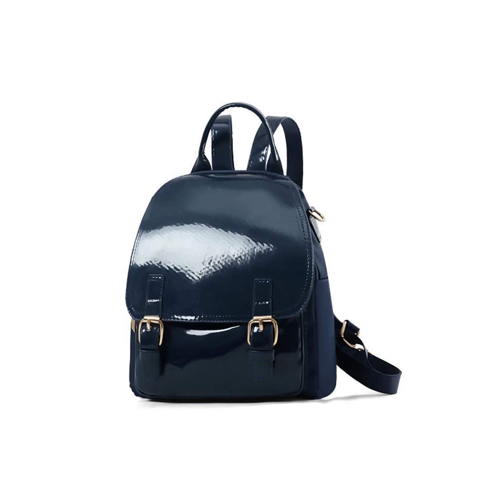 LCSHAN Hombros Hombros Hombros Unisex Hombros Moda Simple Cuero Oxford Tela Leisure Travel Bag (Color : Azul) e10a6c