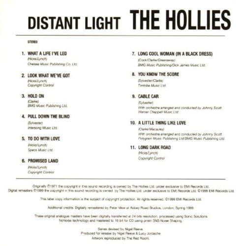 The Hollies Distant Light Amazon Music