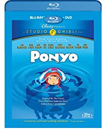 Ponyo (Two-Disc Blu-ray/DVD Combo)