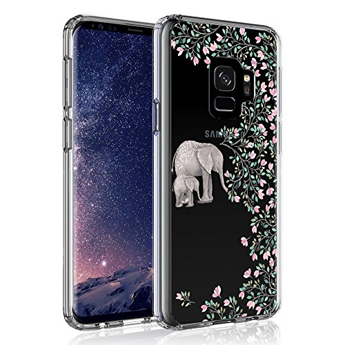 Galaxy S9 Case, SYONER [Scratch Resistant] Ultra Slim Clear Protective Phone Case Cover for Samsung Galaxy S9 [Elephant]