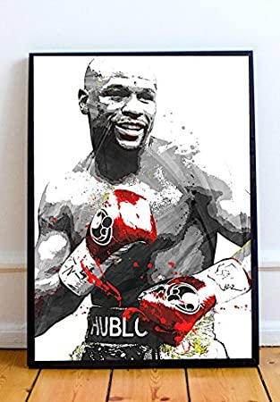Floyd Mayweather Limited Poster Artwork - Professional Wall Art Merchandise (More (8x10)