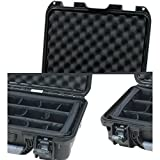 Gator Cases GU-1510-06-WPDV Titan Series Waterproof Equipment with Divider Insert 15'' x 10.5'' x 6.2''