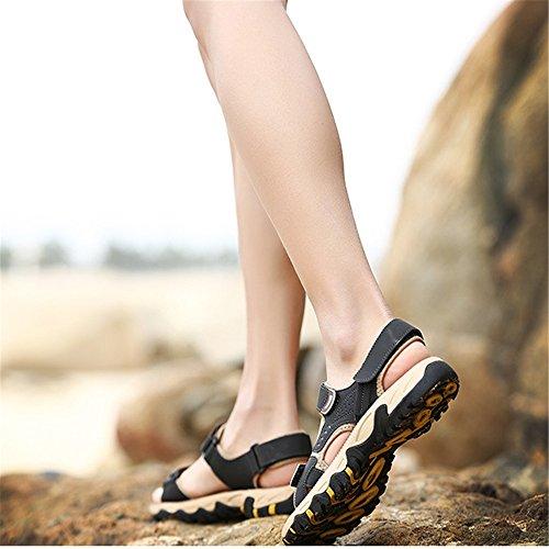 0 39 pantofole Beach Outdoor Traspiranti da Sandali Magic Men's 1 Wagsiyi 3 Dimensione Sandal Blu Stick spiaggia 27 Sports CM Scarpe Shoe 24 0 Colore Marrone EU n7WxBx