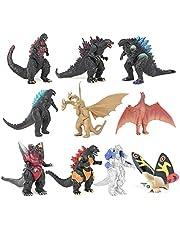 10PCS/Set Godzilla: King of the Monsters Action Figures Model King Ghidrah Altman Monster Model