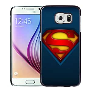 New Fashionable Designed For Samsung Galaxy S6 Phone Case With Fabric Superman Logo Phone Case Cover