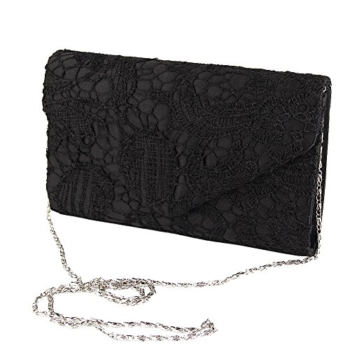 Evening Clutch Womens Floral Lace Envelope Clutch Purses Handbags For Wedding And Party