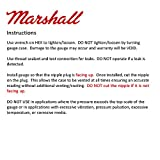 Marshall Instruments LS00015 Silver Dial Fuel