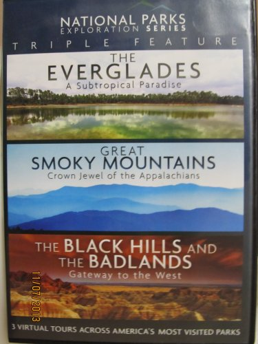 National Parks Exploration Series Triple Feature   The Everglades The Great Smoky Mountains The Black Hills And The Badlands