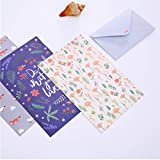 DANIVE Stationery Paper and Envelopes Set, 60 Pcs
