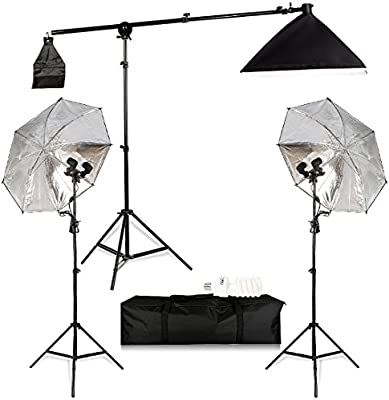 New Energy Saving Daylight 135W 5500K Balanced Bulb For Studio Soft Box Umbrella