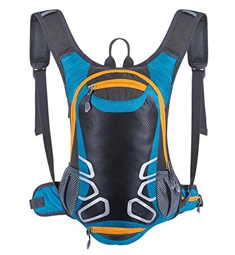 15L waterproof riding helmet backpack Black - 7
