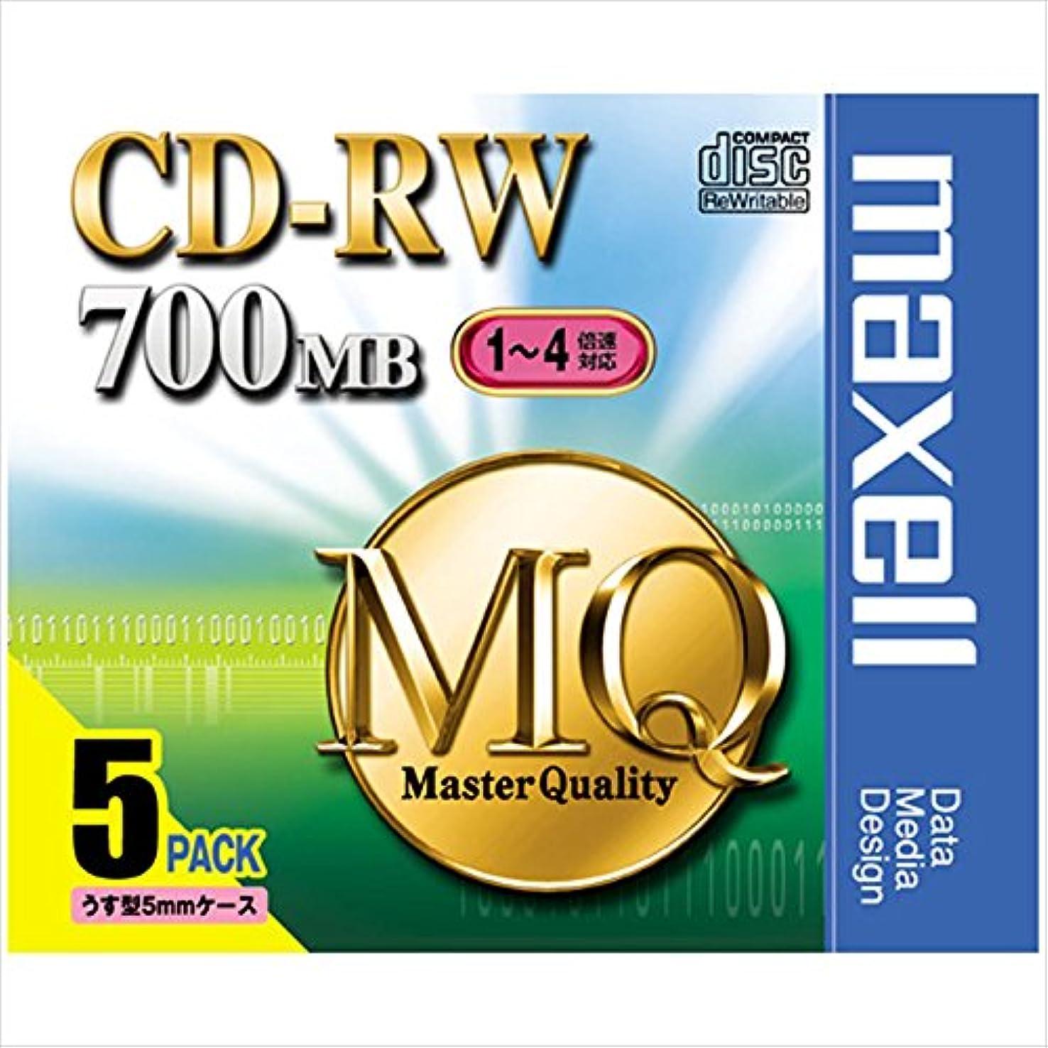 他の場所記録ストローク三菱化学 SW80QM5 CD-RW 700MB 5枚スリムケース入り カラーミックス