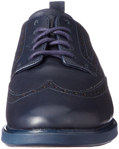 Mens Cole Havel Grande Evoluzione Shortwing Oxford Marino Blu-nero-blu Marino