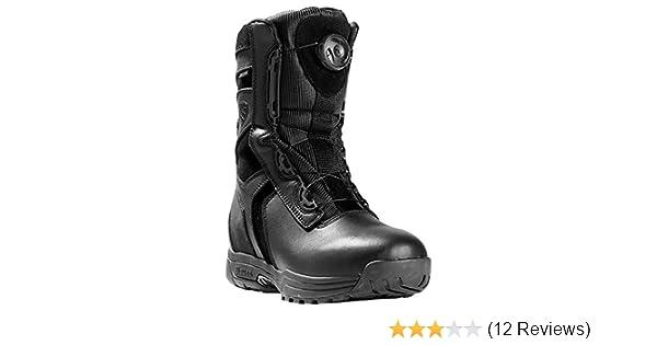 62c35b3365d Blauer Men's 8 Inch Blitz Black Leather Boots