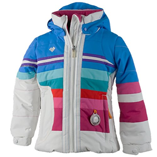 OBERMEYER Girls' Snowdrop Jacket White 5