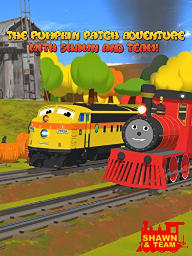 The Pumpkin Patch Adventure with Shawn the Train and his Team! (Pumpkin Chunkin!) - Learn 8 Pumpkin Sizes! - Dexter Patches