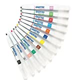 Giotto Decor Pens 12 Assorted Waterbased Colours Suitable for Children to Paint on Most Surfaces(Pack of 12)