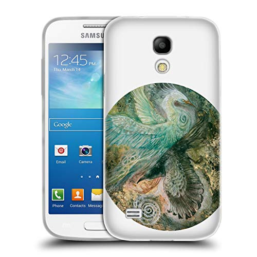 Official Stephanie Law Divergent Birds Soft Gel Case for Samsung Galaxy S4 Mini - S4 Divergent Case Phone Galaxy