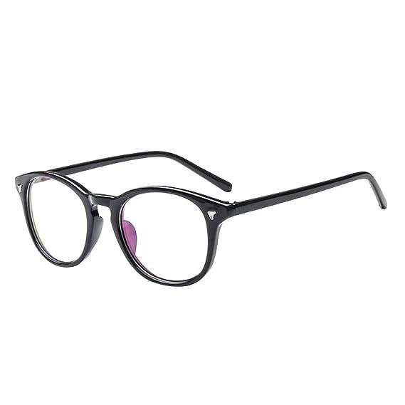 Monturas para Gafas de Vista Forepin® Mujer y Hombre (Negro ...