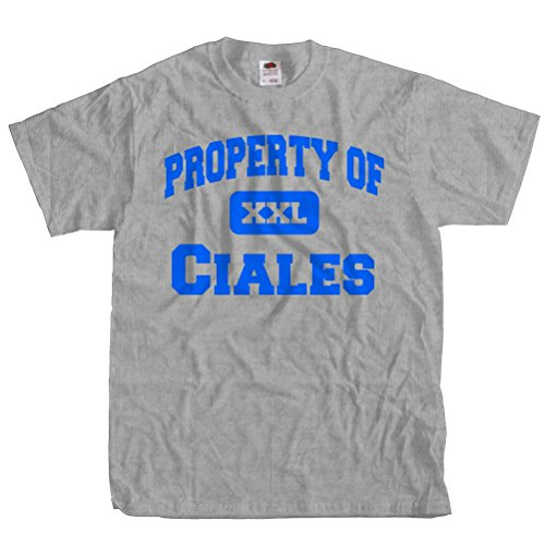 ShirtScope Property of Ciales T shirt Funny Tee Medium