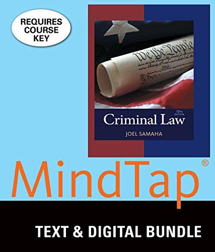 Bundle: Criminal Law, Loose-leaf Version, 12th + MindTap Criminal Justice, 1 term (6 months) Printed Access Card
