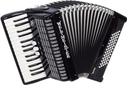 Weltmeister Piano Akkordeon Rubin schwarz