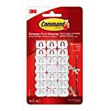 Command Decorating Clips, White, 20-Clips