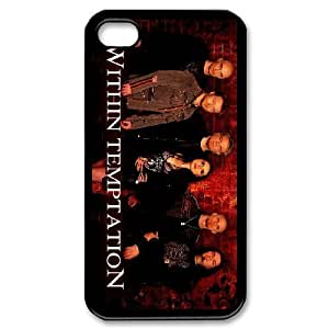 iPhone 4,4S Phone Case Within Temptation F5K7864 by lolosakes