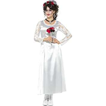 Smiffys 48152S Day of The Dead Bride Costume (Small)