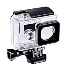 Suptig Waterproof Case Underwater Waterproof Protective Housing for Yi Action camera Xiaoyi Yi Action Camera Xiaomi Yi action camera