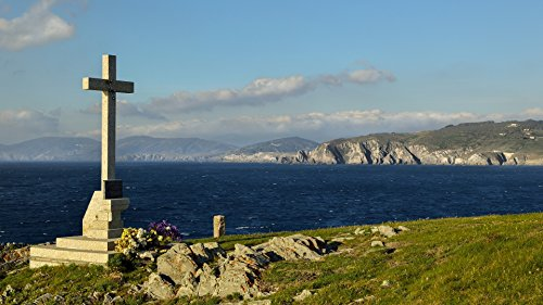 Home Comforts Laminated Poster Cross On The Coast Landscape Poster Print 24x 36