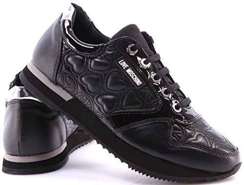 Black Hi Top Black Trainers Love Moschino 5XqHSwxHCn