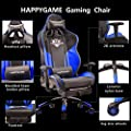 HAPPYGAME High-Back Large Size Gaming Chair with Footrest Computer Swivel Office Chair - OS7702 by HAPPYGAME