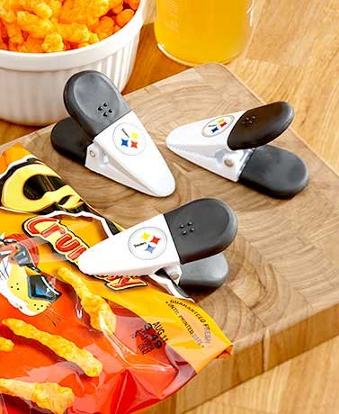 (Set of 3 NFL Magnetic Chip Clips Pittsburgh Steelers)