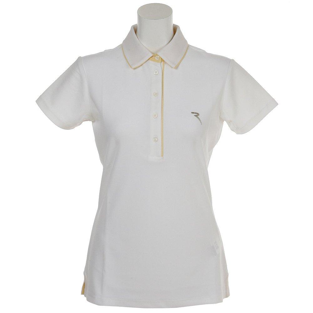 シェルボ(シェルボ) ゴルフウェア レディース ALOA 032-27142-004 半袖 シャツ LL ホワイト B07B6R2BKY