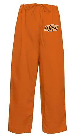 1305fb2af Best Oklahoma State Scrubs Pants Drawstring Scrub Bottoms Men or Ladies XS  Orange