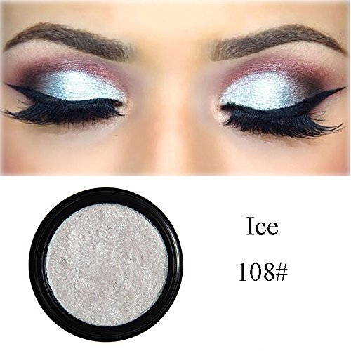 Elaco Glitter Shimmering Colors Eyeshadow Shadow Powder Rainbow Makeup Beauty Shadow Palette Colors Makeup Kit Eye Color Palette Halloween Makeup Palette Matte and Shimmer Eye Cosmetic (H) -