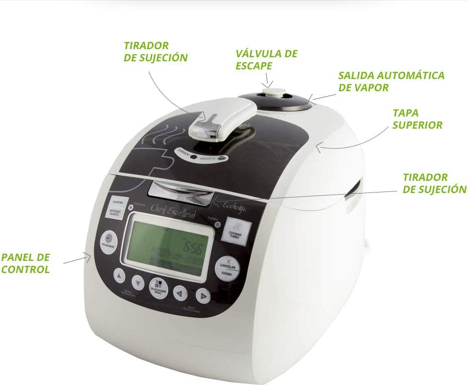 Chef Excellent Ecologic Robot de Cocina Auto Programable: Amazon.es