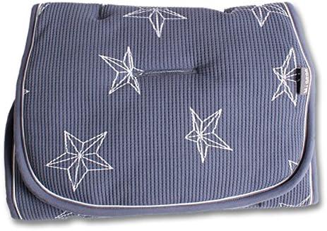 /Reversible para carrito de maletero Minene/ azul con estrellas