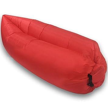Aufblasbare Air Sofa Outdoor Couch Tragbar Möbel Schlafsack Hangout Liege  Sommer Camping Beach Relax Bett Air