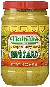 NATHANS MUSTARD CONEY ISLAND, 16 OZ
