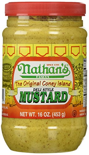 Nathan Coney Island Mustard 16.0 OZ