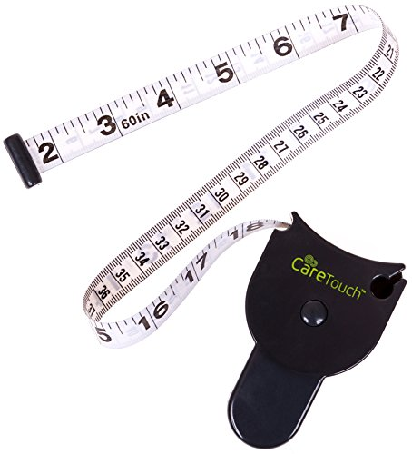 Care Touch Skinfold Body Fat Measuring Tape - Waist Measuring Tape