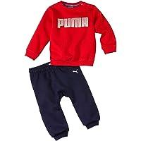 PUMA Chandal Infantil Crew Jogger Rojo/Marino 580305-11