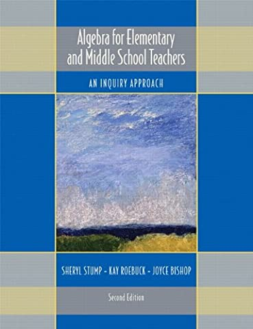 Algebra for Elementary and Middle School Teachers: An Inquiry Approach (2nd Edition) - Algebra Tiles Student Set