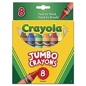 Crayola Jumbo Crayons  - 8 ct