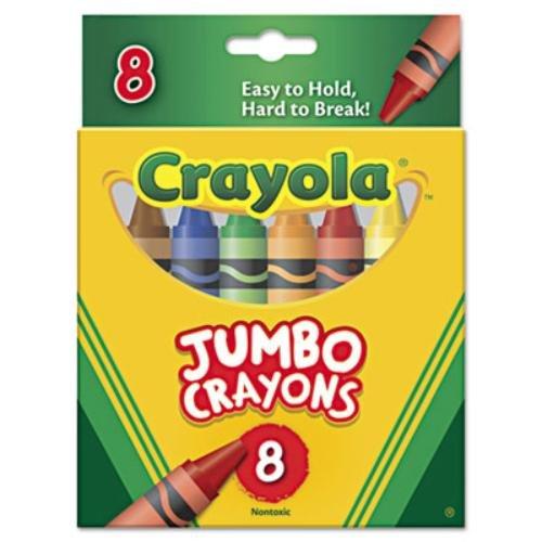BIN389 CRAYONS JUMBO PEGGABLE TUCK